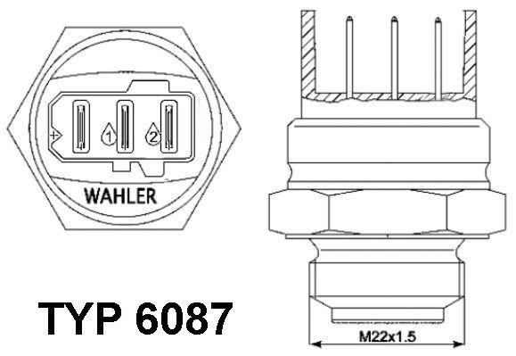 EGR ventil (AGR) BorgWarner (Wahler) 710725D 710725D