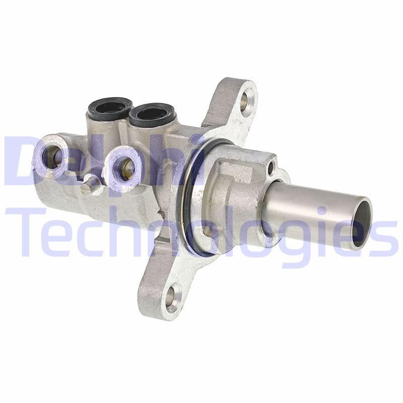 Brzdové destičky - sada DELPHI LP743 LP743