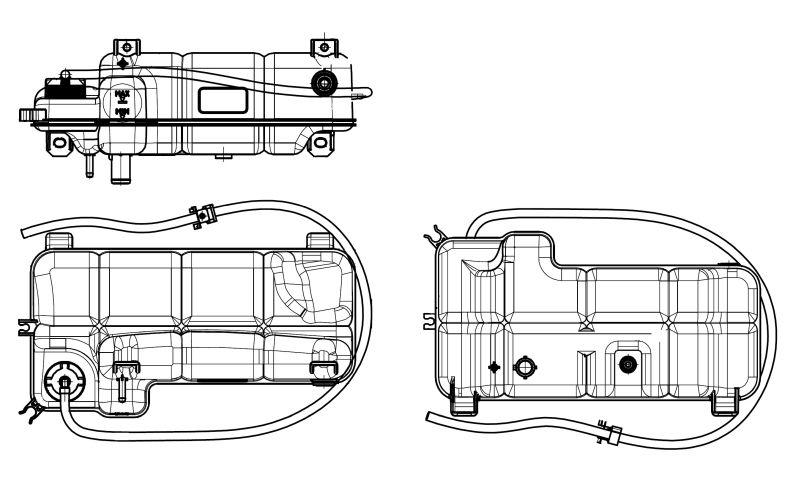 EGR ventil (AGR) NRF 48396 48396
