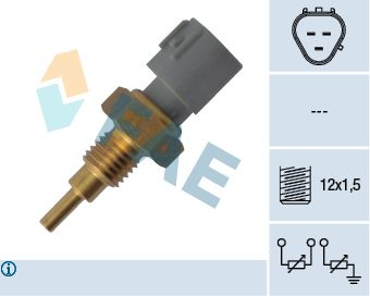 Snímač teploty chladiva FAE 33910 33910