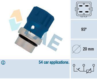 Snímač teploty chladiva FAE 34330 34330