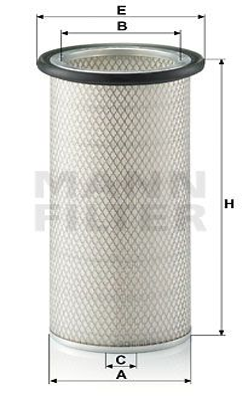 Vzduchový filter MANN-FILTER C 20 325/2 C 20 325/2
