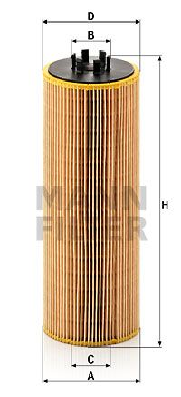 Olejový filter MANN-FILTER HU 947/1 x HU 947/1 x