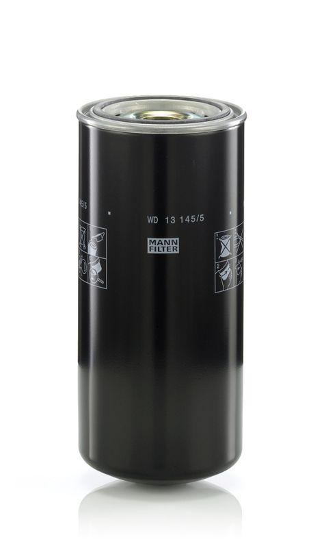 Palivový filter MANN-FILTER WK 824/2 WK 824/2