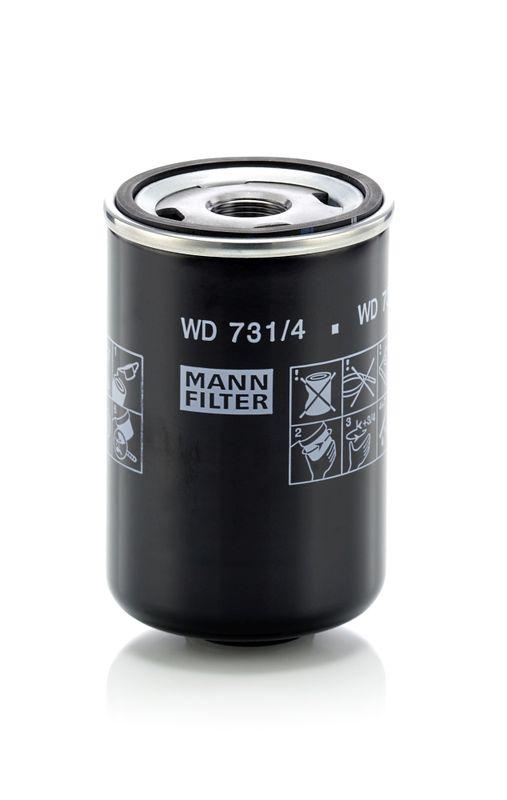Palivový filter MANN-FILTER WK 829/4 WK 829/4