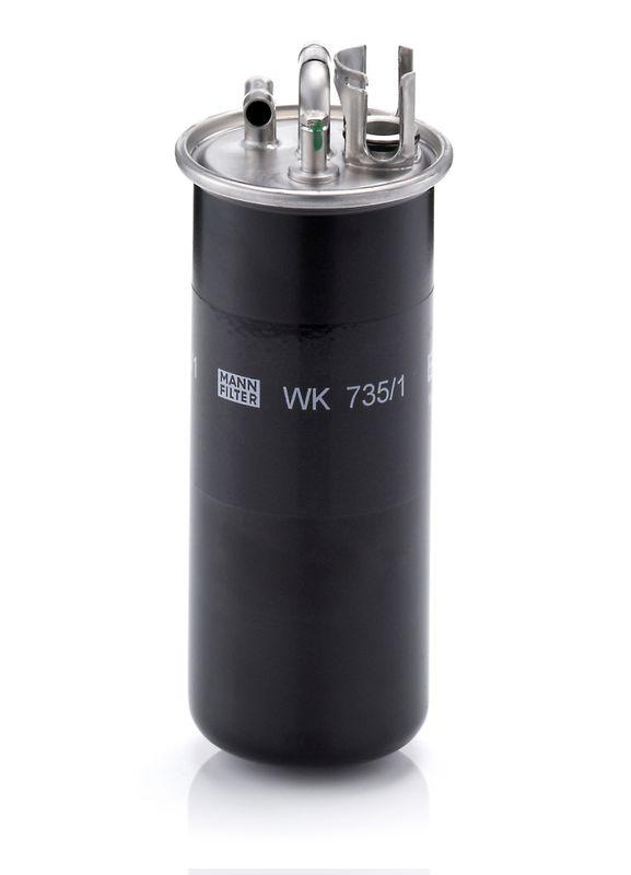 Filter pracovnej hydrauliky MANN-FILTER W 719/4 W 719/4