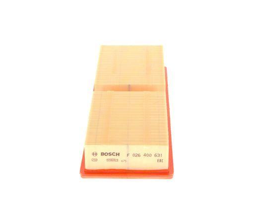 Vzduchový filter BOSCH F 026 400 631 F 026 400 631