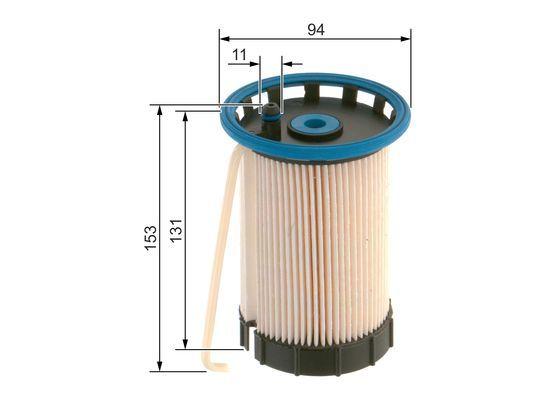 Vstrekovací ventil BOSCH 0 261 500 396 0 261 500 396