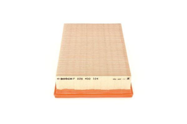 Vzduchový filter BOSCH F 026 400 104 F 026 400 104