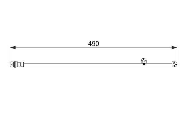 Lambda sonda BOSCH 0 258 030 007 0 258 030 007