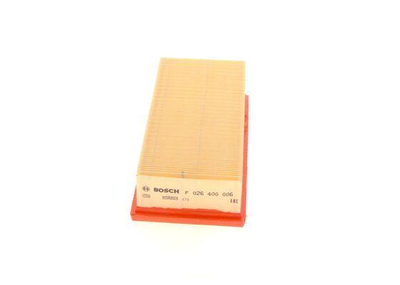 Vzduchový filter BOSCH F 026 400 006 F 026 400 006