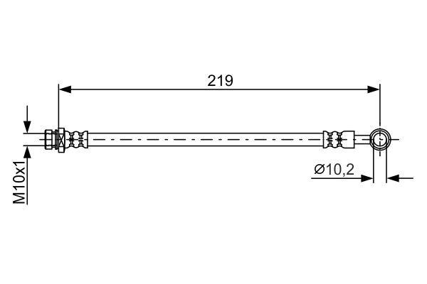 Lambda sonda BOSCH 0 258 007 057 0 258 007 057