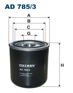 Vzduchový filter FILTRON AK 371/4 AK 371/4