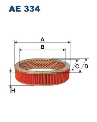 Vzduchový filter FILTRON AM 401/1 AM 401/1