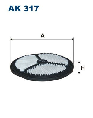 Vzduchový filter FILTRON AM 420 AM 420