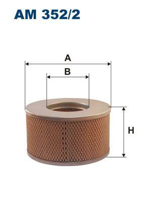 Vzduchový filter FILTRON AM 442/1 AM 442/1