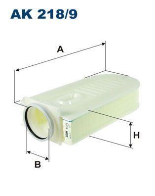 Vzduchový filter FILTRON AM 412/1 AM 412/1