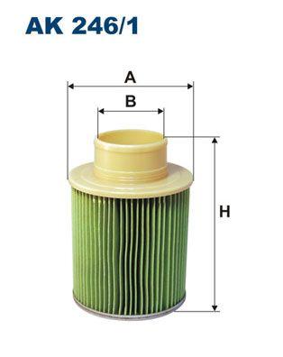 Vzduchový filter FILTRON AM 412/3 AM 412/3