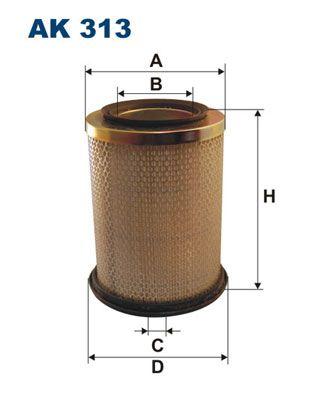 Vzduchový filter FILTRON AM 416/1 AM 416/1