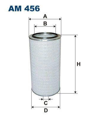 Vzduchový filter FILTRON AP 018/4 AP 018/4