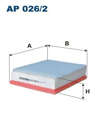 Vzduchový filter FILTRON AP 071/3 AP 071/3