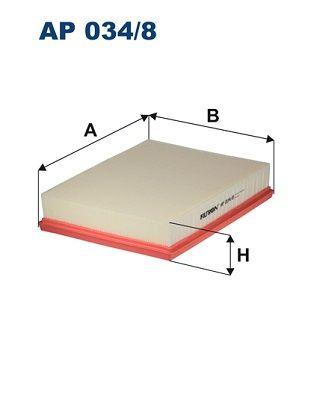 Vzduchový filter FILTRON AP 082/1 AP 082/1