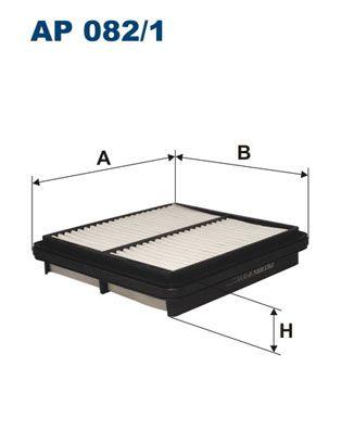 Vzduchový filter FILTRON AP 108/4 AP 108/4