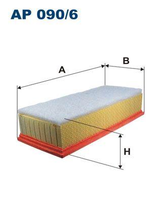 Vzduchový filter FILTRON AP 113/4 AP 113/4