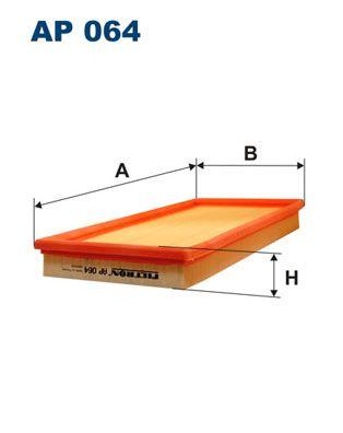 Vzduchový filter FILTRON AP 102/4 AP 102/4