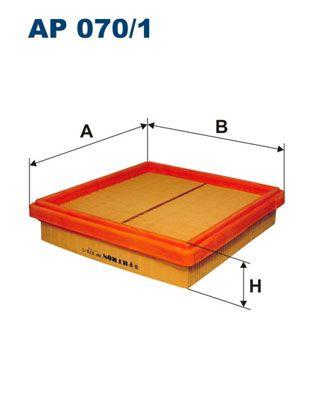 Vzduchový filter FILTRON AP 103/3 AP 103/3