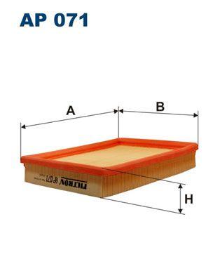 Vzduchový filter FILTRON AP 103/4 AP 103/4