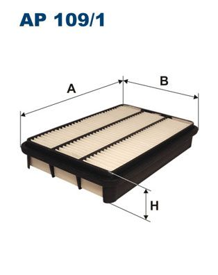 Vzduchový filter FILTRON AP 139/3 AP 139/3