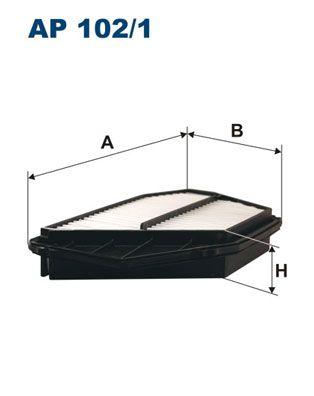 Vzduchový filter FILTRON AP 122/3 AP 122/3