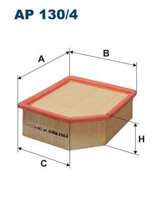 Vzduchový filter FILTRON AP 156/1 AP 156/1