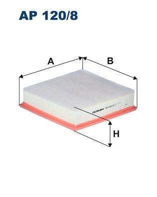 Vzduchový filter FILTRON AP 146/1 AP 146/1