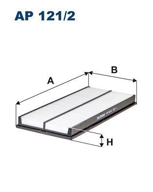Vzduchový filter FILTRON AP 147/1 AP 147/1