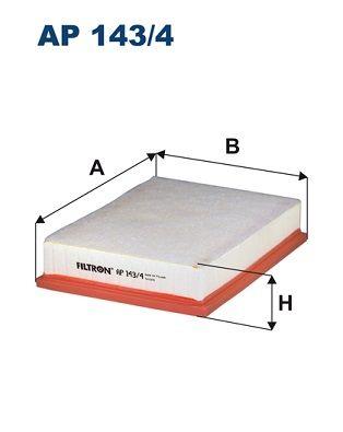 Vzduchový filter FILTRON AP 178/1 AP 178/1
