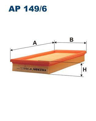 Vzduchový filter FILTRON AP 183/1 AP 183/1