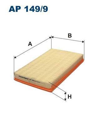 Vzduchový filter FILTRON AP 183/4 AP 183/4