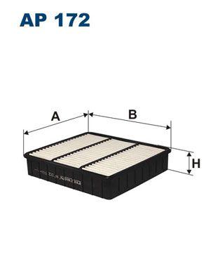 Vzduchový filter FILTRON AP 197/3 AP 197/3