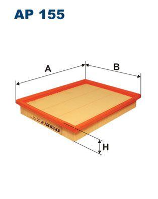 Vzduchový filter FILTRON AP 188/3 AP 188/3