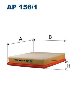 Vzduchový filter FILTRON AP 190/4 AP 190/4