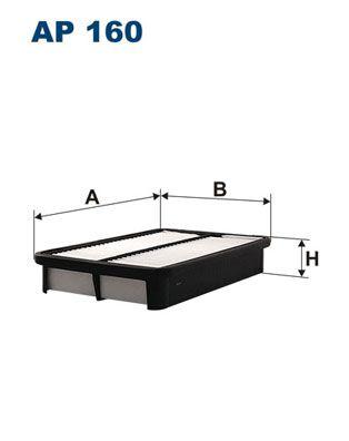 Vzduchový filter FILTRON AP 192/1 AP 192/1