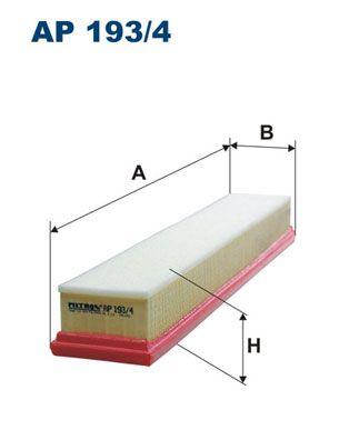 Vzduchový filter FILTRON AR 282/1 AR 282/1