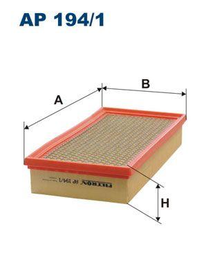 Vzduchový filter FILTRON AR 286/1 AR 286/1