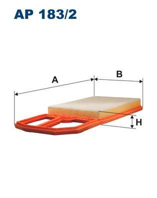 Vzduchový filter FILTRON AR 232/1 AR 232/1