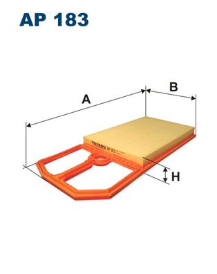 Vzduchový filter FILTRON AR 234/3 AR 234/3