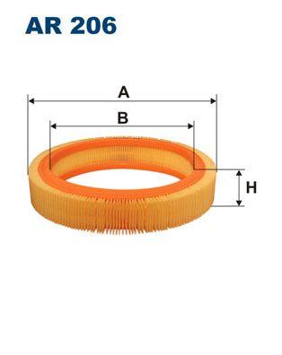 Vzduchový filter FILTRON AR 350/4 AR 350/4
