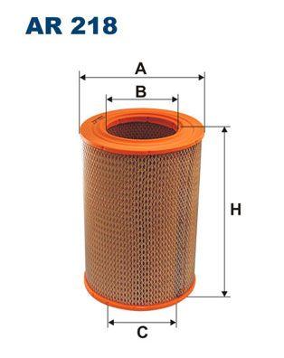 Vzduchový filter FILTRON AR 356/1 AR 356/1