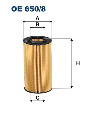 Filter pracovnej hydrauliky FILTRON OP 520 OP 520